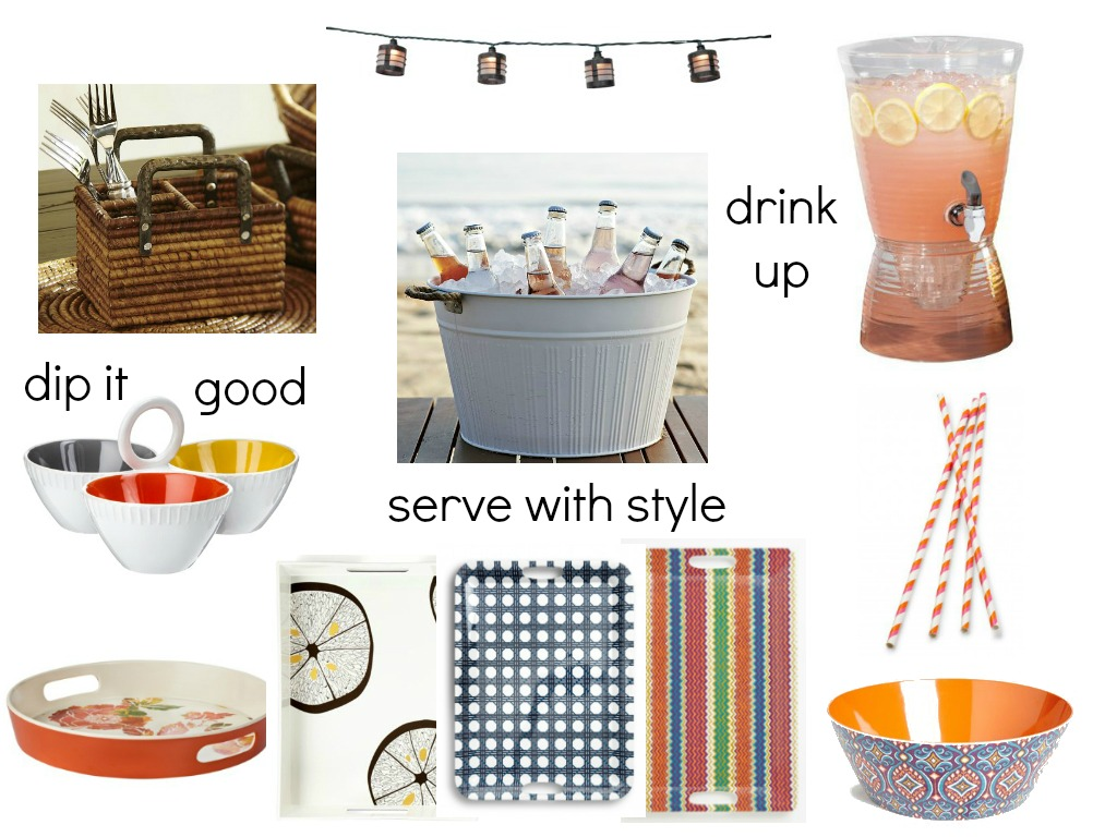 Stylish Serveware for Outdoor Entertaining | La Petite Pear