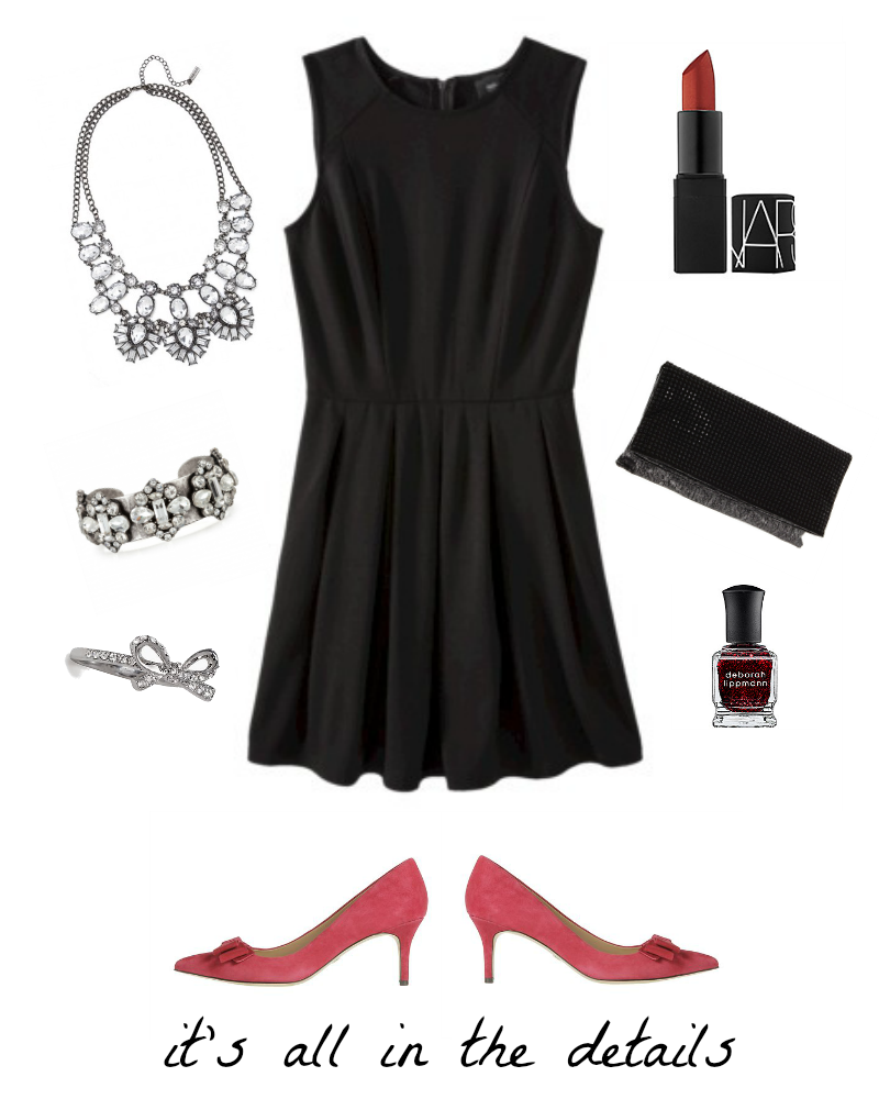 8087c1e7a9d8 Accessorize Black Dress For Christmas Party – Little Black Dress ...