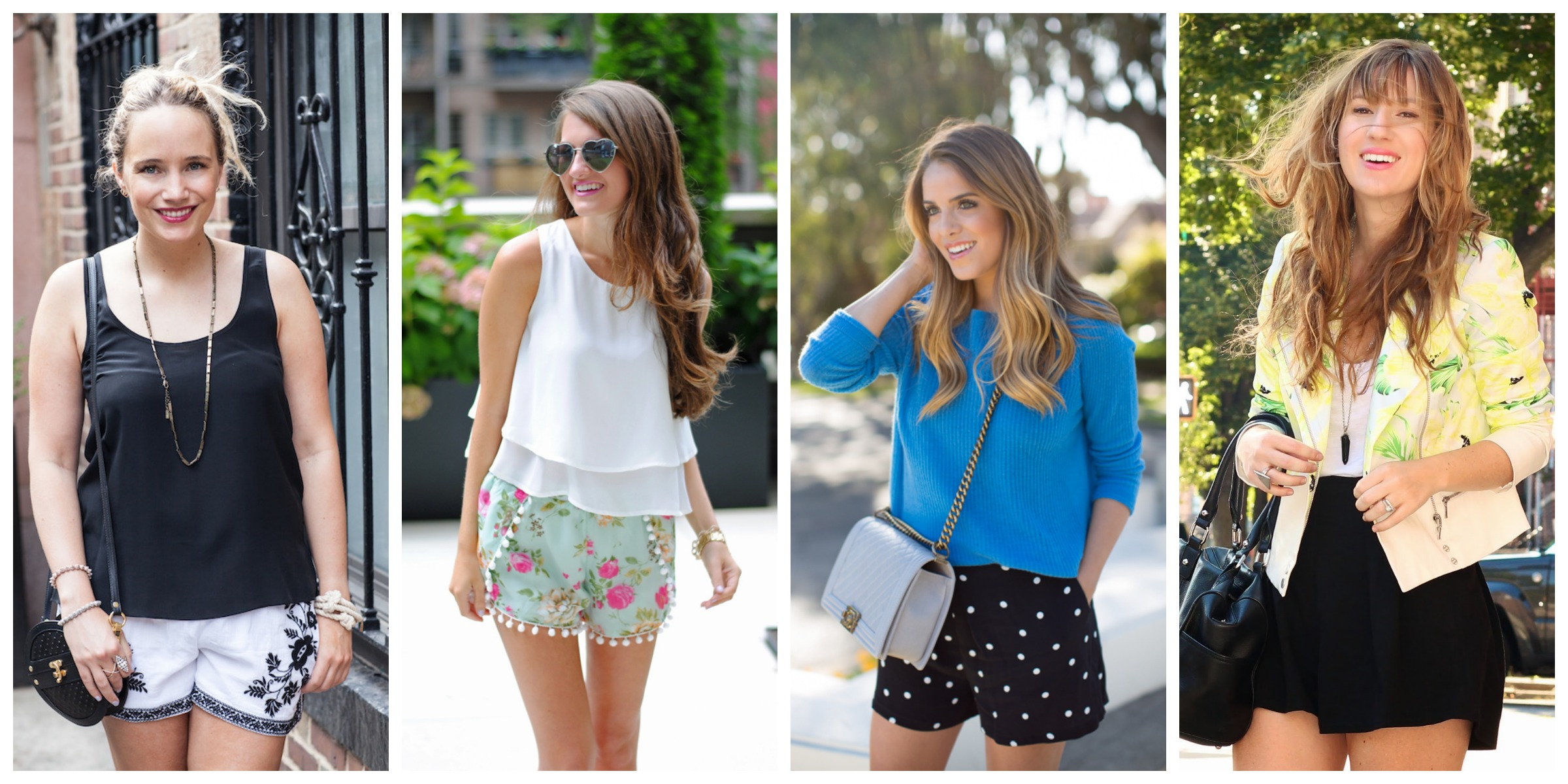 what to wear with dressy shorts Archives - La Petite Pear