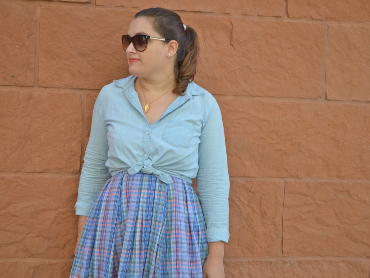 What to wear with chambray