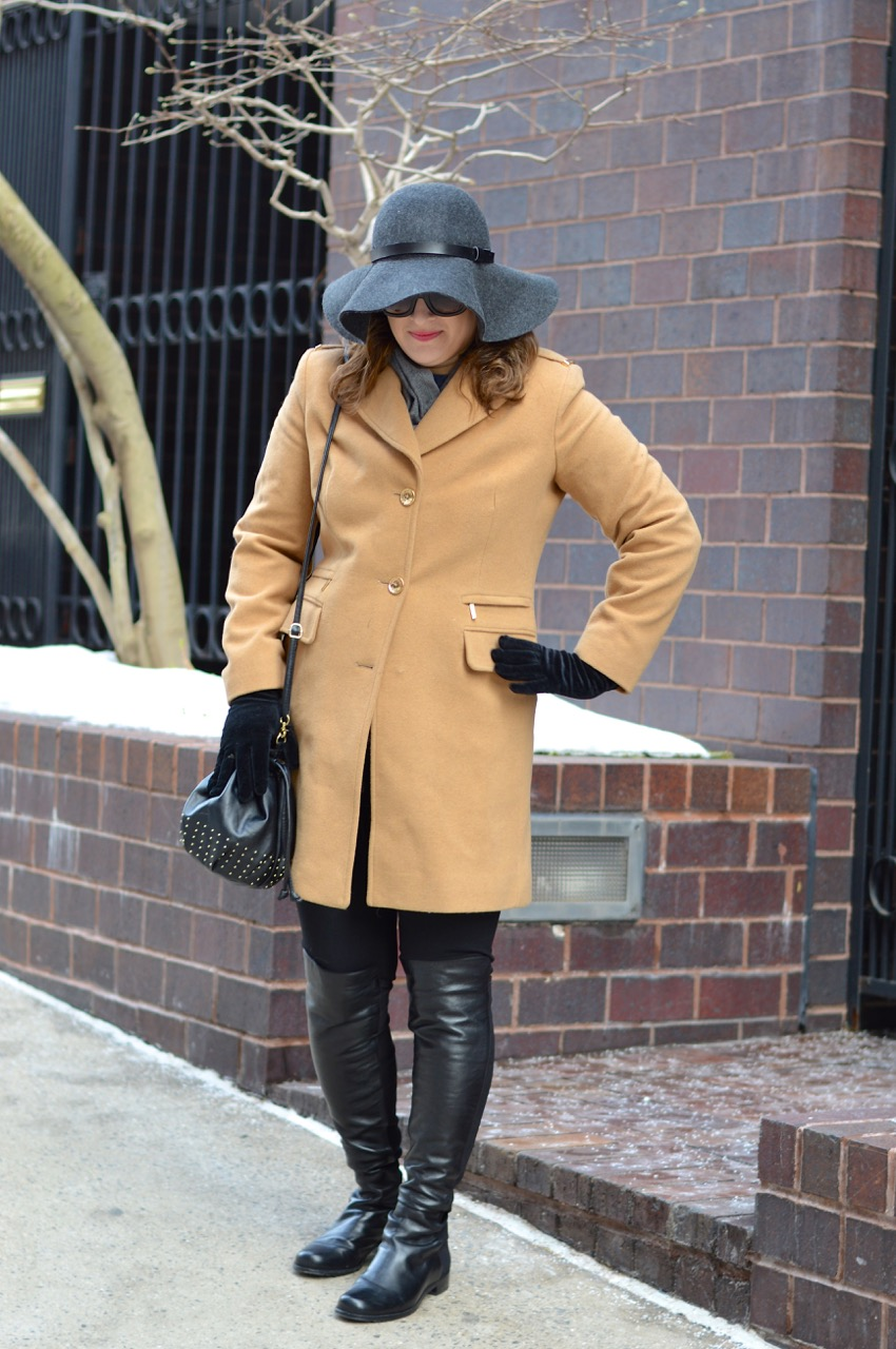 Coat and hat