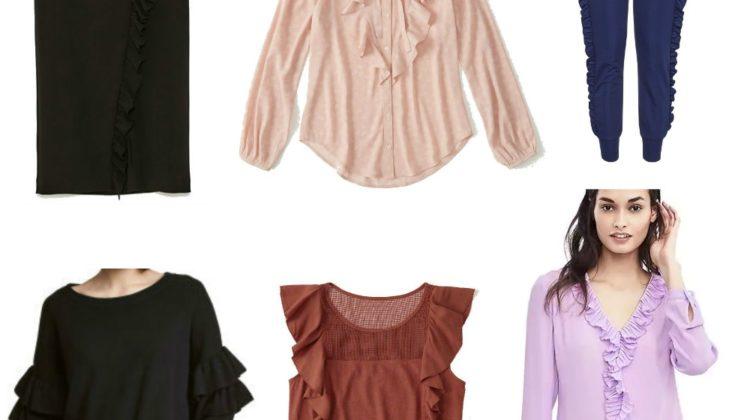 Shop the Trend: Ruffles