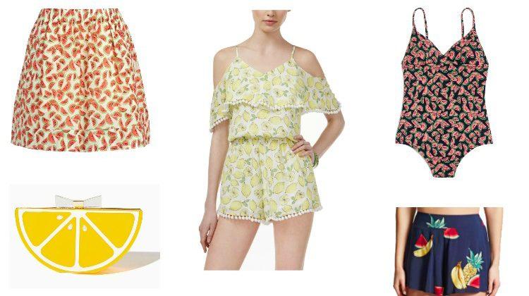 Shop the Trend: Fruit Print