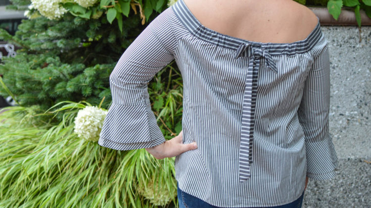 The Perfect Striped Top to Transition to Fall