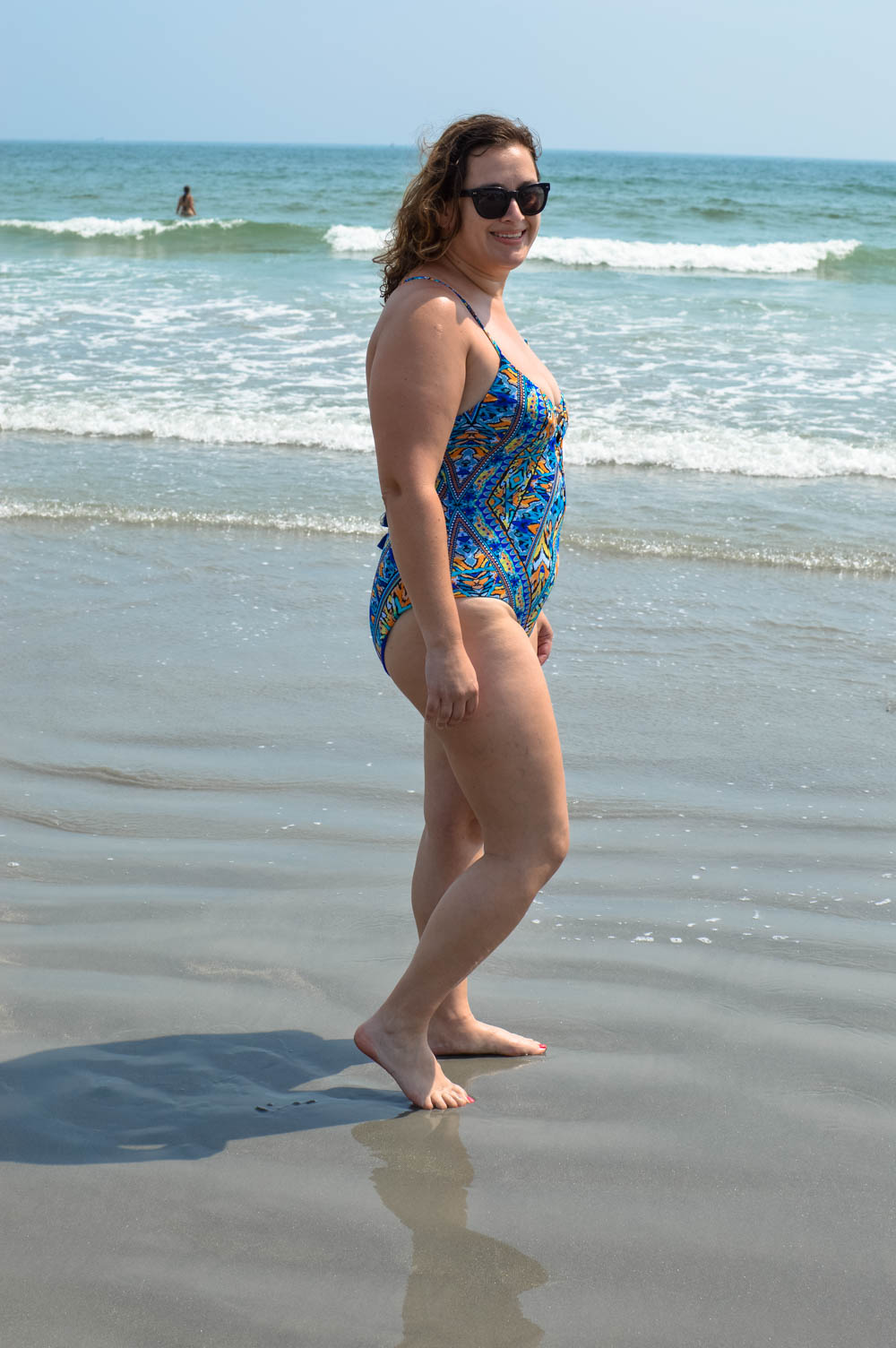 Flattering swimsuits for curvy girls