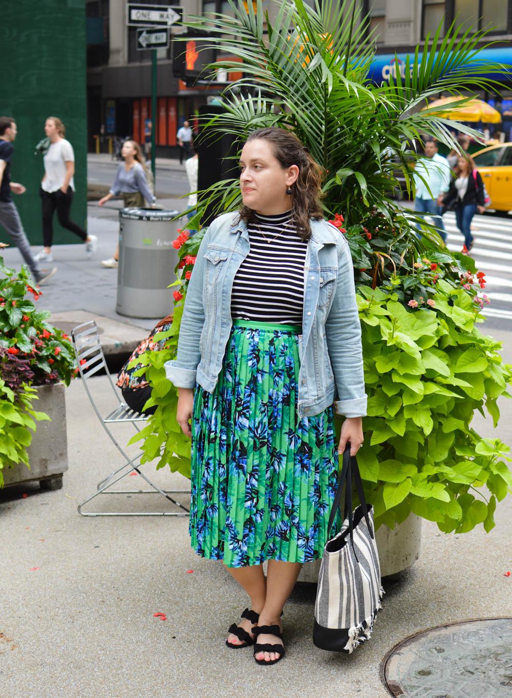 Early fall fashion
