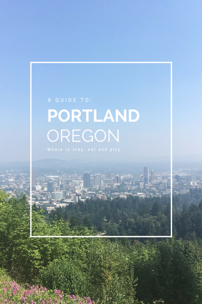 A long weekend in Portland