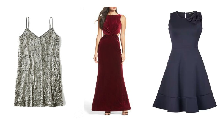 Holiday Dresses for Less