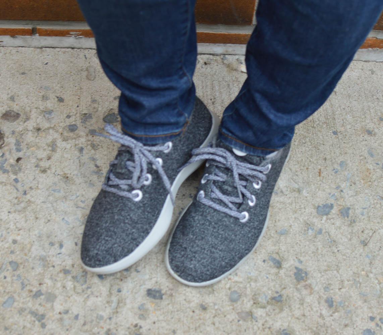 cozy sneakers