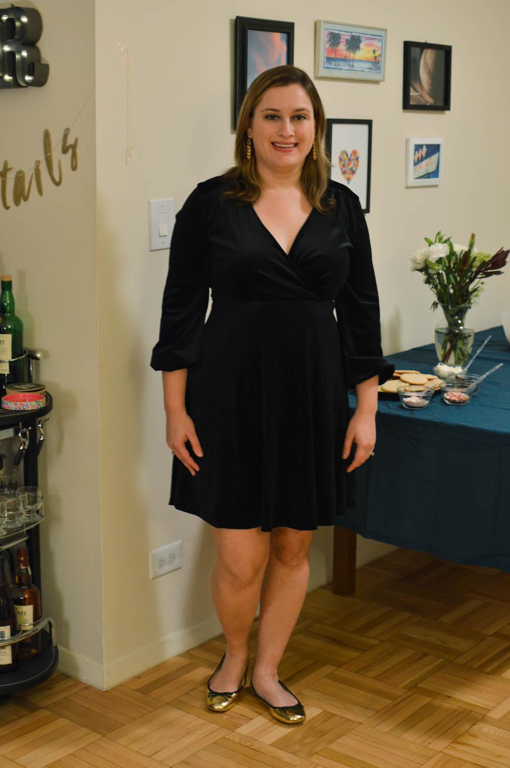 9b2426620eb Velvet Dress - La Petite Pear